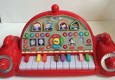 Little Einsteins Play and Learn Piano Vtech Rocket Classical Music Keyboard red