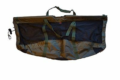 UK Angling Supplies Carp Floating Folding Carp Fishing Weigh Sling + Carry Pouch