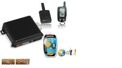 New bulldog deluxe 500 LCD 2 way remote starter**