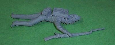 Toy Soldiers War Of 1812 Dead Us Soldier  54 Mm
