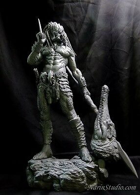 Genuine Narin Predator Aborginal resin kit not sideshow or cinemaquette. 1/6