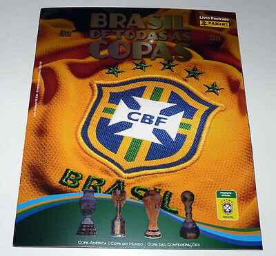 Panini Wc 2014 Brazil All Cups 1919-2014 - Complete Album + Loose Stickers