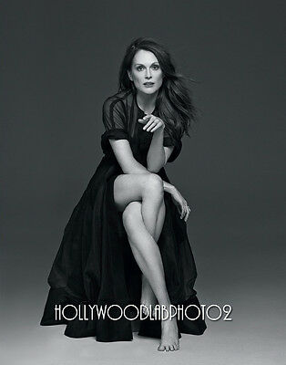 JULIANNE MOORE 8x10 Lab PHOTO Glossy Portrait Print SEXY Hollywood Celebrity
