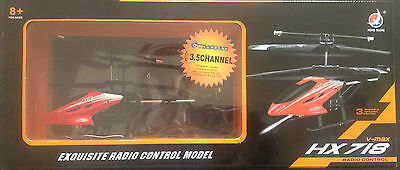 V-Max Hx718 Exquisite Radio Control Model 3.5 Channel Helicopter