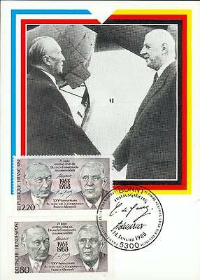 France Germany special 2 state MC MK joint issue bb91