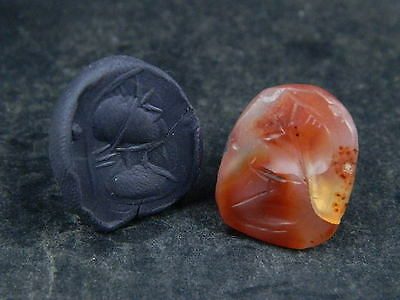 Ancient Agate Seal/Stamp Near Eastern C.300 BC   #BE2386