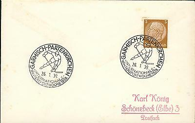 Germany 3.Reich special cover ice hockey Eishockey gh05