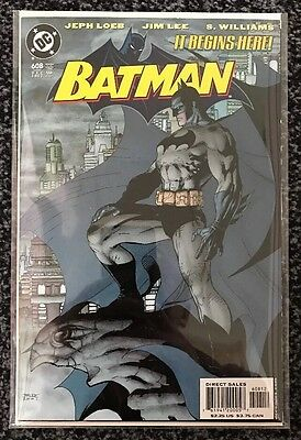 Batman #608 - Rare 2nd Print Variant NM / Bagged And Boarded