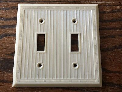 Vintage Lines Lined Switch Plate Cover Deco No. 8