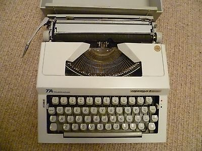 Vintage Triumph Adler Contessa 2 De Luxe Typewriter - Free Uk Post
