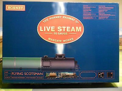 Hornby R1041 Class A3 Flying Scotsman Live Steam Set