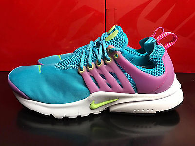 Nike Air Presto Gs Trainers Shoes UK 4.5 5.5 EUR 37.5 38.5 blue pink 833878 400