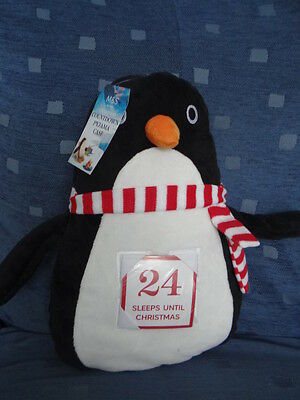 Bnwt Penguin Pj Case With Christmas Countdown Cards
