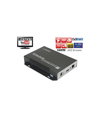 IRENIS HDE-265 IPTV Streamer & Encoder with HDMI Input H.265/HEVC