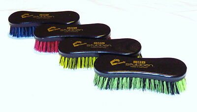 STUBBEN Stiff Bristles WOODEN Back DANDY Hoof Tack Boots Rug Grooming Brush NEW