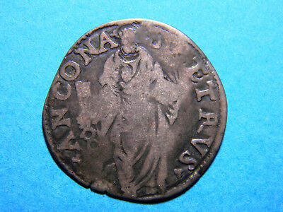 Papal States Julius III 1550-1555 Silver Gulio Coin