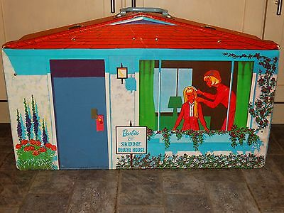 Barbie:  VINTAGE Complete BARBIE SKIPPER DELUXE FAMILY House!