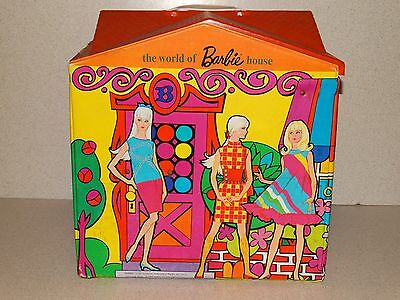 Barbie:  VINTAGE Complete THE WORLD OF BARBIE Mod House!