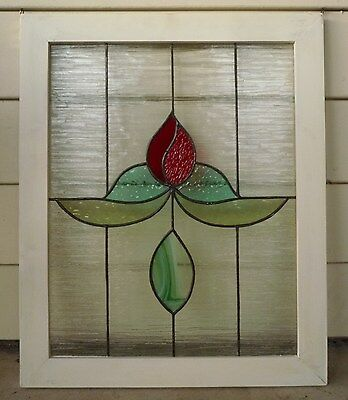 Large Tiffany Style Stained Glass Window