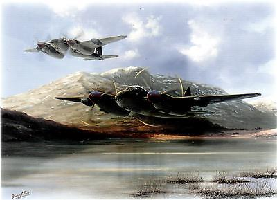 Mosquito Fb Vi Aircraft Of Coastal Command---Aviation  Print Barry Price