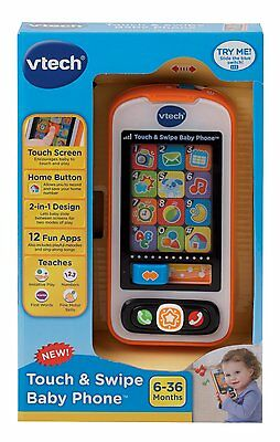 NEW VTech Touch and Swipe Baby Phone