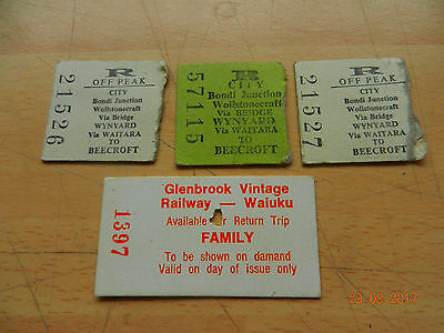 railwayana tickets australia ?