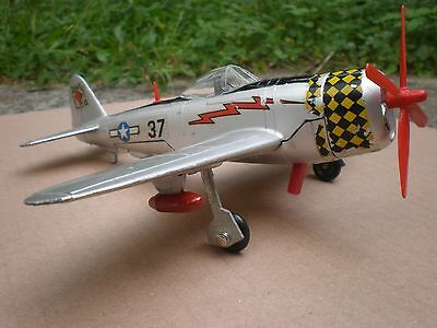 Dinky P47 Thunderbolt In Original Box - Great Condition + Working