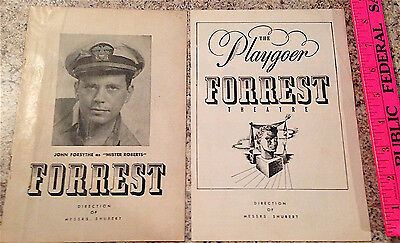 """The Playgoer Forrest Theater """"They Knew What They Wanted"""" & """"Mister Roberts"""""""