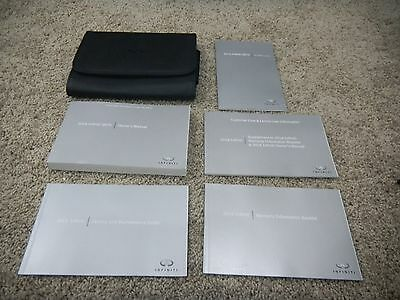 2016 Infiniti Qx70 Owners Manual Set With Free Shipping