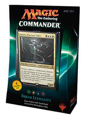 Breed Lethality Commander Deck - Commander 2016 - Magic The Gathering