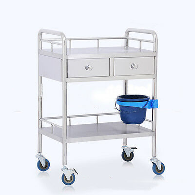 Portable Layers Drawer Medical Best Dental Lab Kitchen Cart Trolley IN945