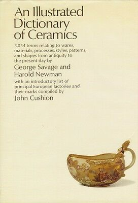 Dictionary of Ceramics Greece Rome Tang Ming Minoan Etruscan Egyptian 3054 Terms