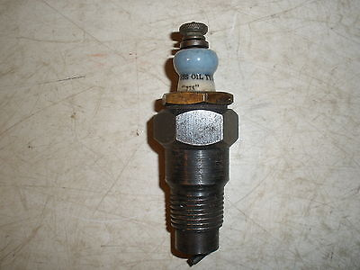 """Antique Vintage Express Oil Type 1/2"""" Spark Plug Gas Engine Hit Miss Collectible"""