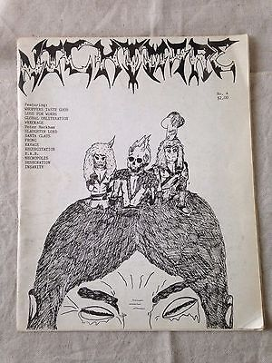 NIGHTMARE No. 4 - American Heavy Metal ZINE 1980s
