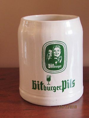 Bitburger Pils German Beer Stein