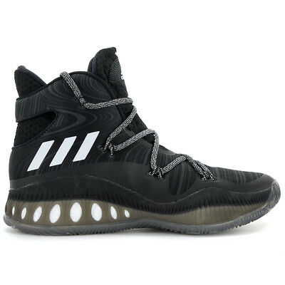 detailed look f76f0 a3e62 Adidas Men s Crazy Explosive Boost Core Black White Basketball Shoes B42421  NEW!