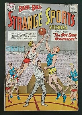 Brave and the Bold #46 - Hotshot Hoopsters - (Feb-Mar 1963, DC) - VG