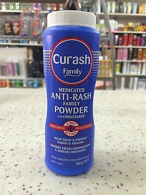 Curash Medicated Anti-Rash Family Powder with Cornstarch 100g