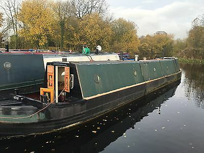 BEAUTIFUL TRADITIONALLY BUILT 48Ft NARROWBOAT PETTER ENGINE 4/5 berth vessel