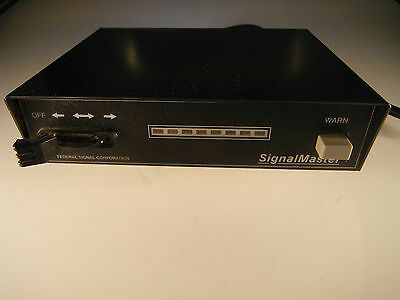 Federal Signal   - - -   Arrow Stick Signalmaster Controller 330102 Flashes Lts!