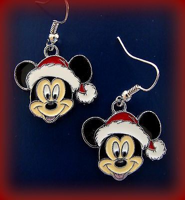 MICKEY MOUSE Earrings Jewelry - Disney Character - Christmas Mickey Mouse