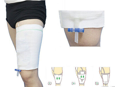 Sleeve Urine Catheter Bag Leg Holder For Urinary Incontinence Supporting Fixed