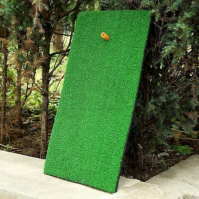 30×60cm Green Backyard Golf Mat Practice Driving Range Hitting Pad Training Aid