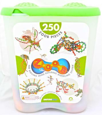 ZOOB Game that's a SNAP to play Kids Building Construction Toy 128 Pieces Age 6+