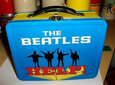 The Beatles-2016`Help-Childrens Metal Back To School Lunchbox-: New-: Free To US