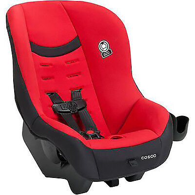 Convertible Car Seat Toddler Kid Baby Cosco Scenera Next Rear Front Face Red