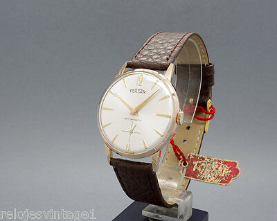 New Old Stock 50s FORSAM ROSE Army mt. UNITAS 6310! vintage mechanical watch NOS