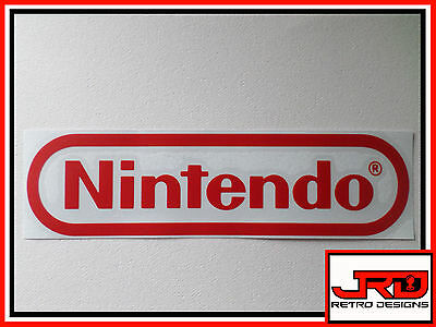 Nintendo Vinyl Sticker