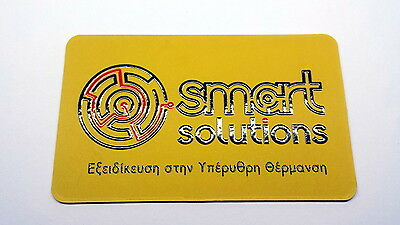 1000 Business Cards spot UV full color 700gr with rounded corners and two sides