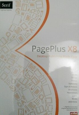 Serif Pageplus x8 - Create stunning documents - With user guide - Fast delivery